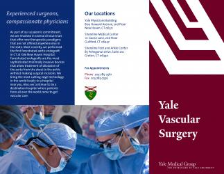 Brochure for Yale Medical Group