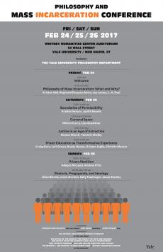 Conference poster for Philosophy Dept.