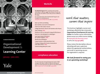 Brochure for The Learning Center