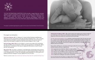 Brochure for adoption program