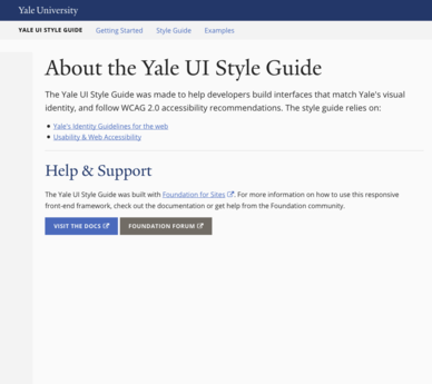 Web style guide.